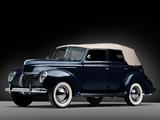 Photos of Ford V8 Deluxe Convertible Fordor Sedan (91A-74) 1939
