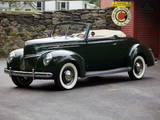 Photos of Ford V8 Deluxe Convertible Coupe 1939