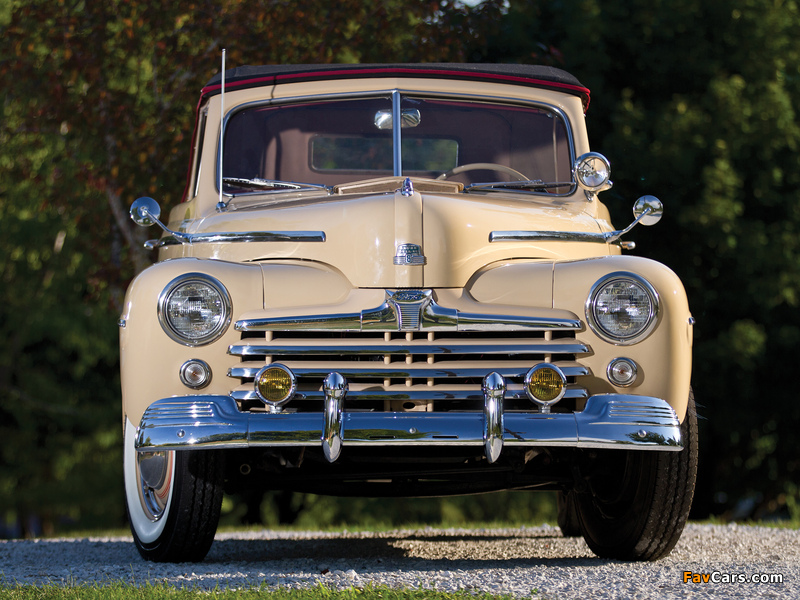 Photos of Ford Super Deluxe Convertible Coupe 1947 (800 x 600)