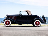 Pictures of Ford V8 Deluxe Roadster (40-710) 1934