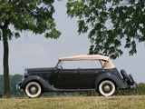 Pictures of Ford V8 Deluxe Phaeton (48-750) 1935