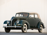 Pictures of Ford V8 Deluxe Convertible Sedan (81A-740) 1938