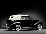 Pictures of Ford V8 Deluxe Phaeton 1938