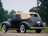Pictures of Ford V8 Deluxe Convertible Fordor Sedan (91A-74) 1939