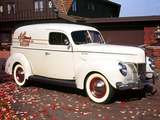 Pictures of Ford V8 Deluxe Sedan Delivery (01A-78) 1940
