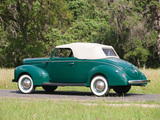 Pictures of Ford V8 Deluxe Convertible Coupe 1940