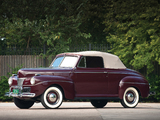 Pictures of Ford V8 Super Deluxe Convertible Coupe (11A-76) 1941