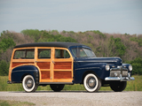 Pictures of Ford V8 Super Deluxe Station Wagon (21A-79B) 1942
