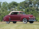 Pictures of Ford V8 Super Deluxe Convertible Coupe 1946