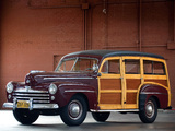 Pictures of Ford V8 Super Deluxe Station Wagon (89A-79B) 1948
