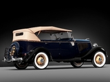 Ford V8 Deluxe Phaeton (40-750) 1934 wallpapers