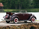 Ford V8 Deluxe Roadster (48-710) 1935 wallpapers