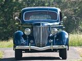 Ford V8 Deluxe Tudor Touring Sedan 1936 wallpapers