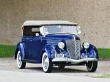 Ford V8 Deluxe Phaeton (68-750) 1936 wallpapers