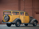 Ford V8 Deluxe Station Wagon 1937 wallpapers