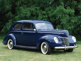 Ford V8 Deluxe Tudor Sedan (01A-70B) 1940 wallpapers
