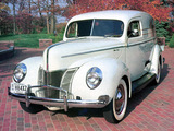 Ford V8 Deluxe Sedan Delivery (01A-78) 1940 wallpapers