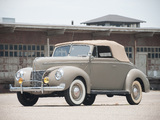 Ford V8 Deluxe Convertible Coupe 1940 wallpapers