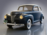 Ford V8 Deluxe Tudor Sedan (11A-70A) 1941 wallpapers