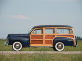Ford V8 Super Deluxe Station Wagon (21A-79B) 1942 wallpapers
