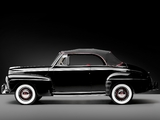 Ford V8 Super Deluxe Convertible Coupe 1946 wallpapers
