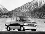 Ford Econoline Club Wagon 1995–97 images