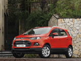 Ford EcoSport CN-spec 2013 images