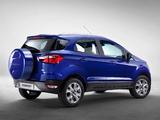Ford EcoSport EU-spec 2013 pictures