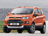 Ford EcoSport EU-spec 2013 wallpapers