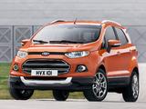 Ford EcoSport EU-spec 2013 wallpapers