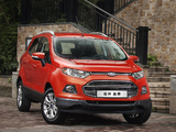 Ford EcoSport CN-spec 2013 wallpapers
