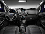 Images of Ford EcoSport EU-spec 2013