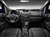 Images of Ford EcoSport EU-spec 2013