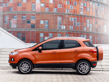 Photos of Ford EcoSport EU-spec 2013