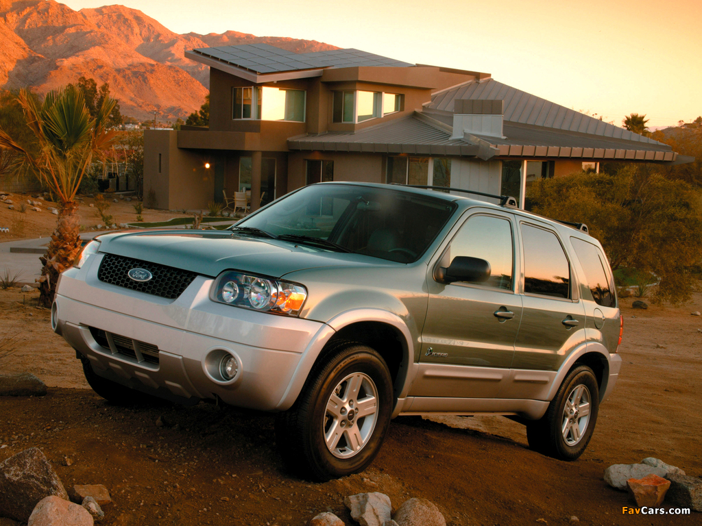 Ford Escape Hybrid 2004–07 images (1024 x 768)