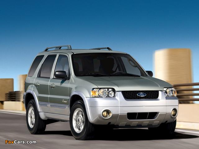 Ford Escape Hybrid 2004–07 photos (640 x 480)