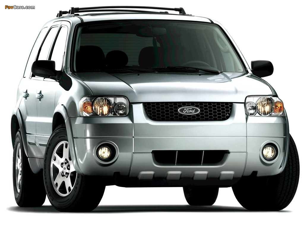 Ford Escape Limited 2004–07 pictures (1024 x 768)