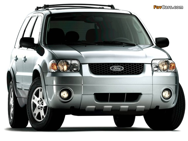 Ford Escape Limited 2004–07 pictures (640 x 480)
