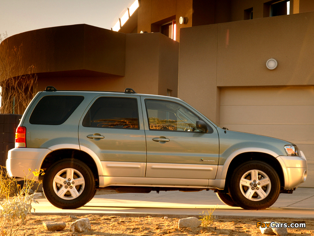 Ford Escape Hybrid 2004–07 pictures (640 x 480)