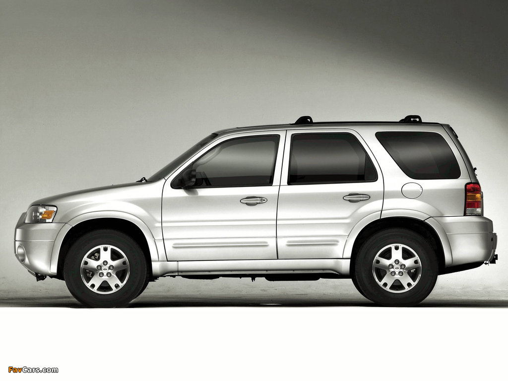 Ford Escape Limited 2004–07 wallpapers (1024 x 768)