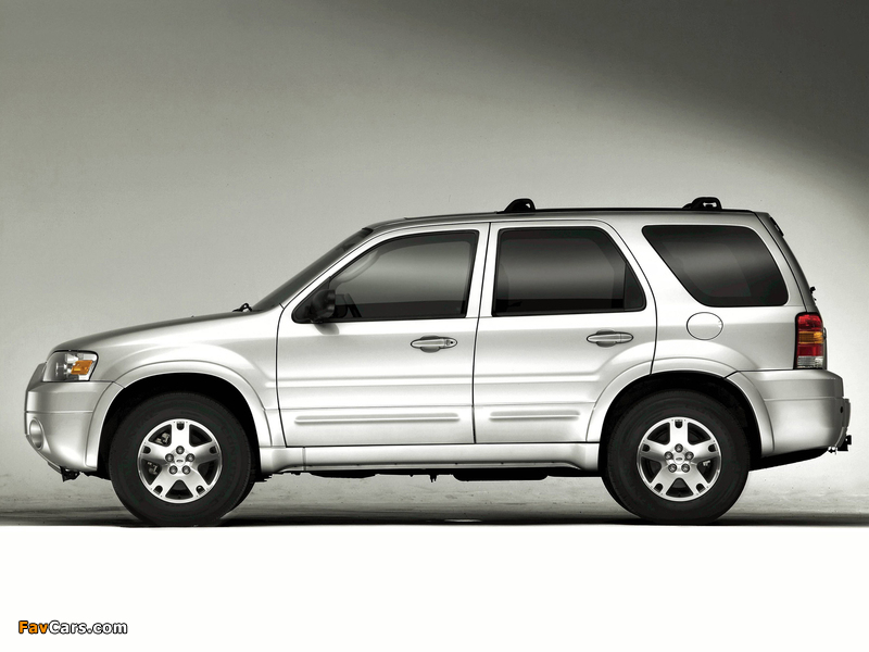 Ford Escape Limited 2004–07 wallpapers (800 x 600)