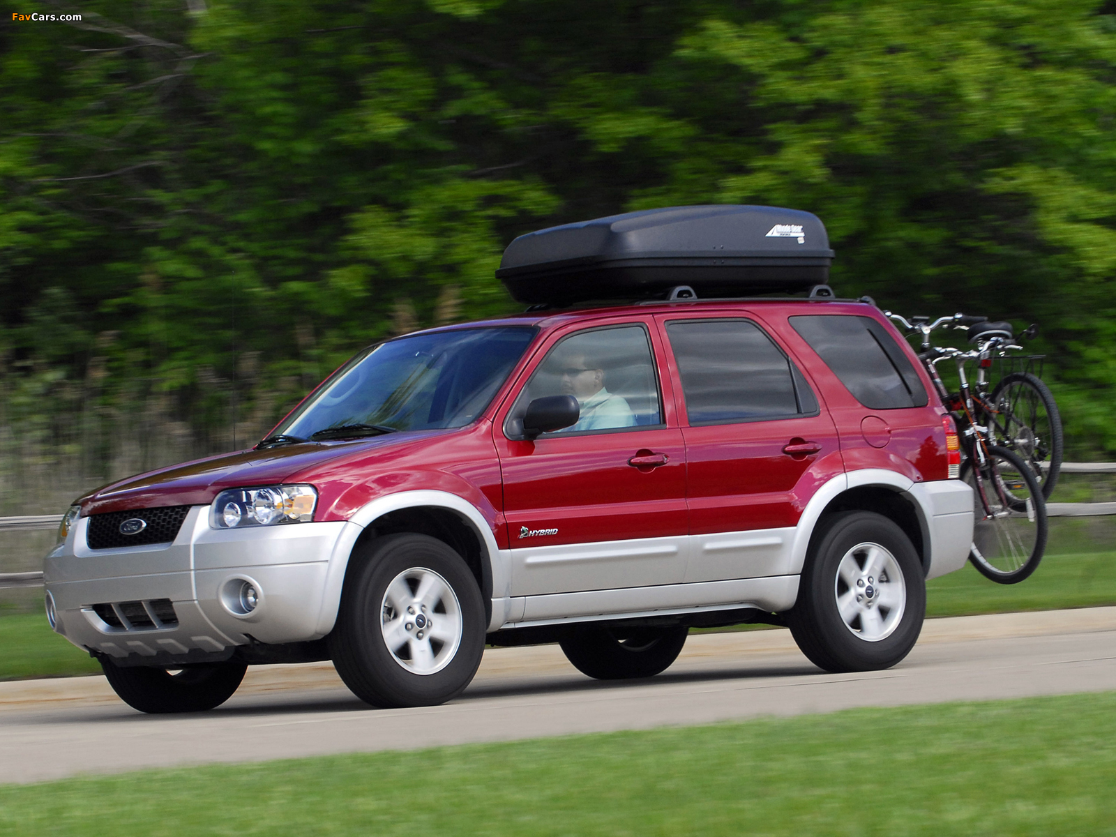 Ford Escape Hybrid 2004–07 wallpapers (1600 x 1200)