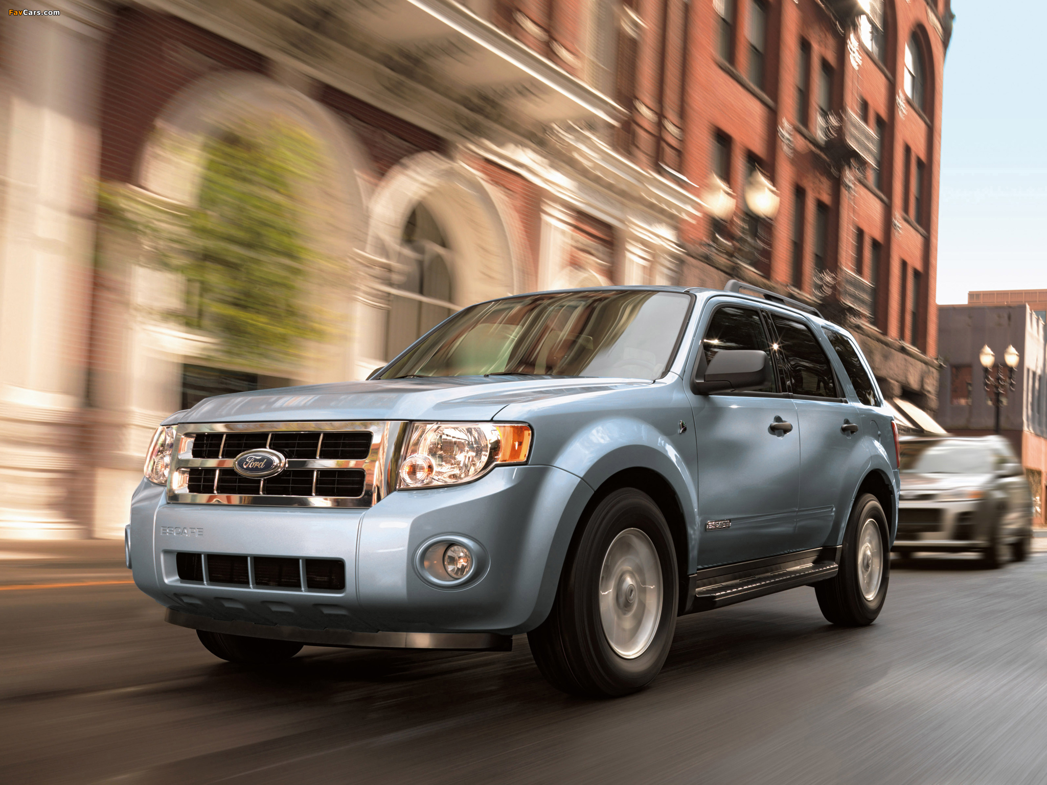 Ford Escape Hybrid 2007–12 images (2048 x 1536)