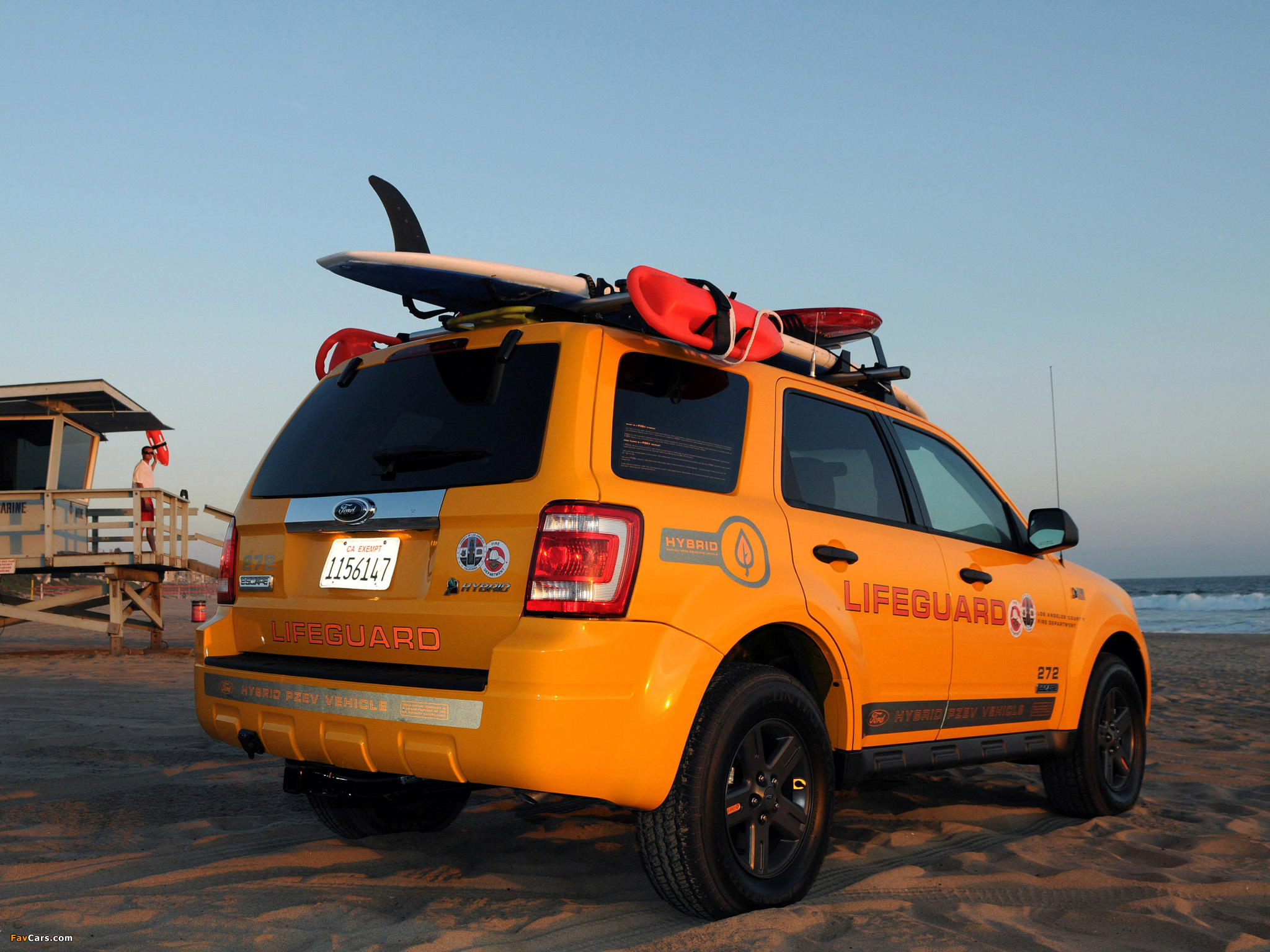 Ford Escape Hybrid Lifeguard 2008–12 images (2048 x 1536)