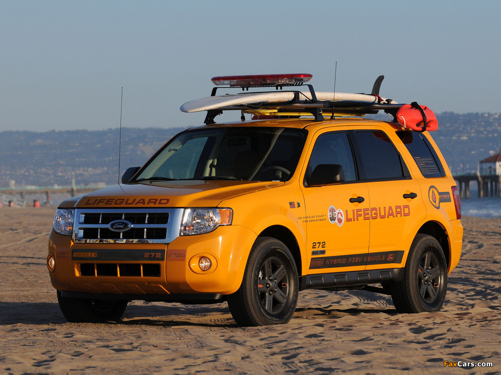 Ford Escape Hybrid Lifeguard 2008–12 images (1024 x 768)