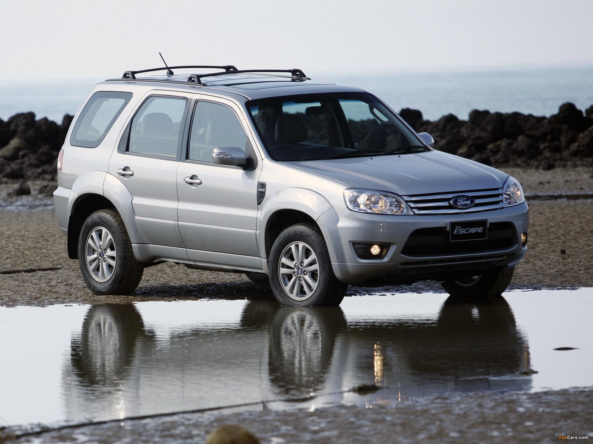 Ford Escape TH-spec (ZD) 2008–10 photos (2048 x 1536)