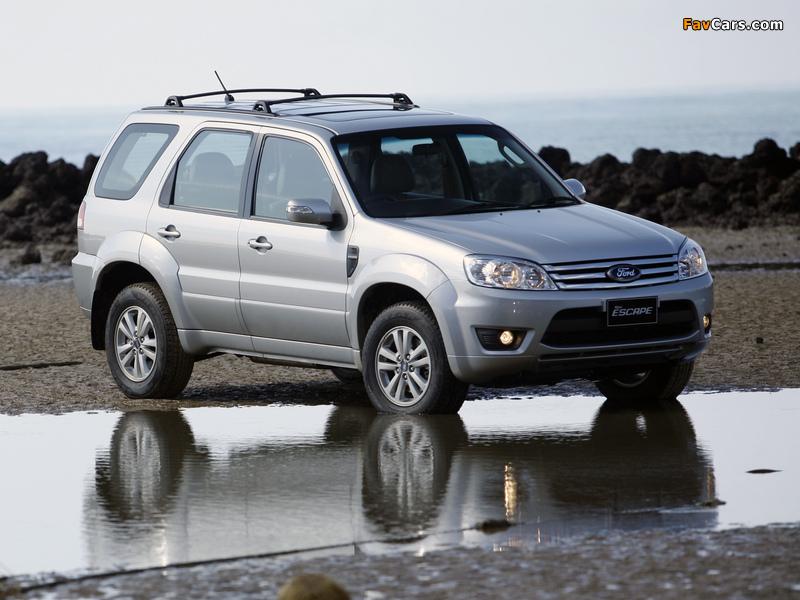 Ford Escape TH-spec (ZD) 2008–10 photos (800 x 600)