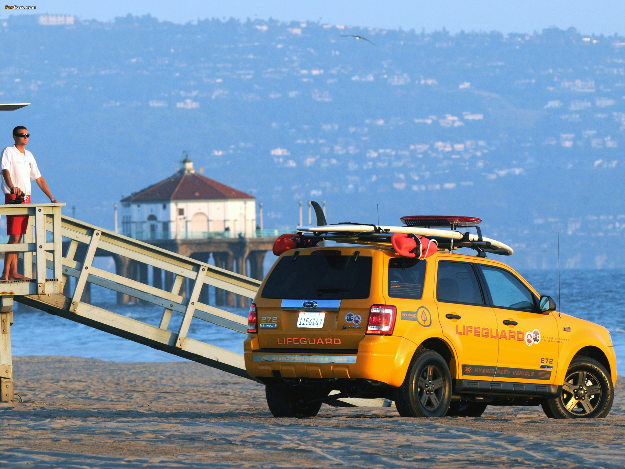Ford Escape Hybrid Lifeguard 2008–12 wallpapers (2048 x 1536)