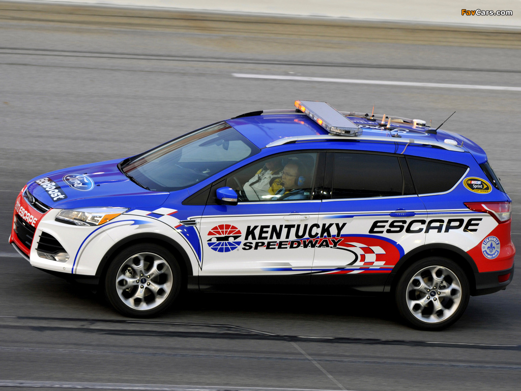 Ford Escape NASCAR Pace Car 2012 photos (1024 x 768)