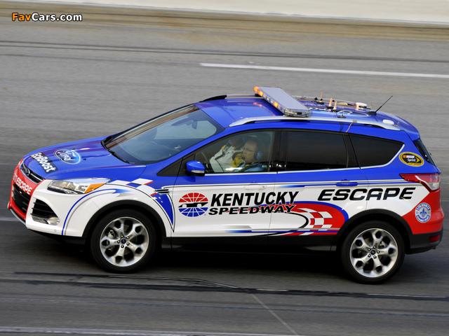 Ford Escape NASCAR Pace Car 2012 photos (640 x 480)